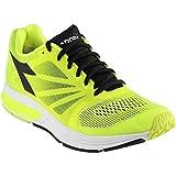 Diadora Men's Kuruka Running Shoe, Yellow Fluorescent/Black, 9.5 M US Review