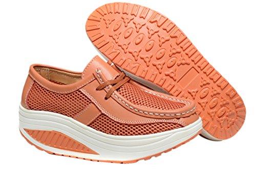 nbsp;Zapato Walking Studio SK de On mujer la Zapatillas Slip Anaranjado Ejercicio Fitness cómodo nbsp;– RqZvTwWq