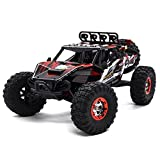 Zerospace Keliwow 1/12 Scale High Speed Electric Powered RC Car 4WD Brushless Off Road Truck 2.4G HZ Remote Control Racing Car - RTR+,Not Include Real Light,Red