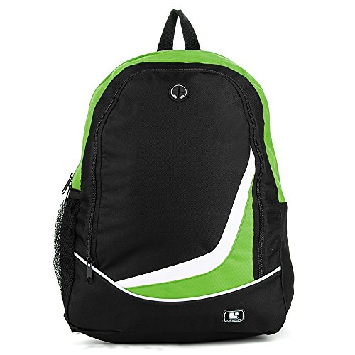 lightweight-compact-nylon-backpack-green-for-toshiba-133-to-156-laptop