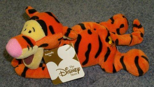 "Carpet Winnie The Pooh (Disney Winnie the Pooh Bear Rug Style 9"" Plush Bean Bag Lying Down Tigger Doll)"