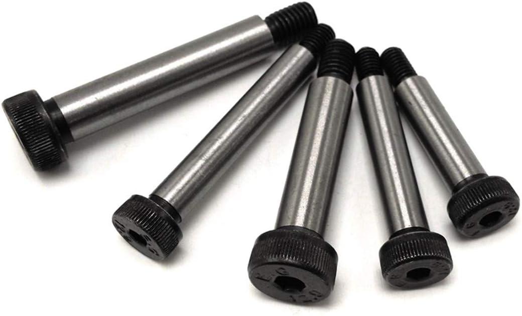 Class12.9 Hex Socket Head Step Shoulder Screw ISO7379 Fasteners 8x85-m6-10pieces M5 M6 M8 Shoulder Bolts