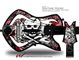Skull Splatter Decal Style Skin - fits Warriors Of Rock Guitar Hero Guitar (GUITAR NOT INCLUDED)
