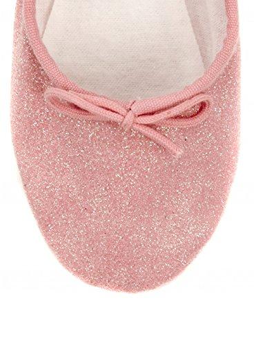 Bloch PINK Talullah Girls party Glitter Ballet pumps slippers