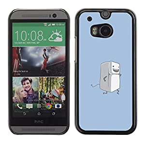 Stuss Case / Funda Carcasa protectora - Running Fridge - Funny - HTC One M8