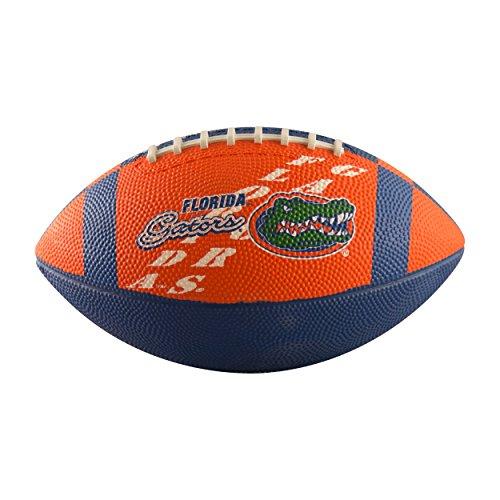 Florida Rubber Gators (Logo Brands NCAA Florida Gators Junior Size Rubber Football, Brown)