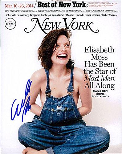 Signed Moss, Elisabeth 8x10 Photo. autographed