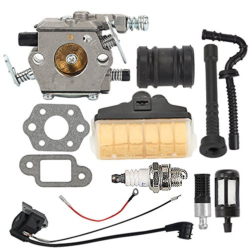 Cheap Hilom MS250 Carburetor with Ignition Coil Air Filter Turn Up Kit for STIHL 021 023 025 MS210 MS230 MS 250 Chainsaw WT-286 WT-215 Replace Zama C1Q-S11E C1Q-S11G free shipping