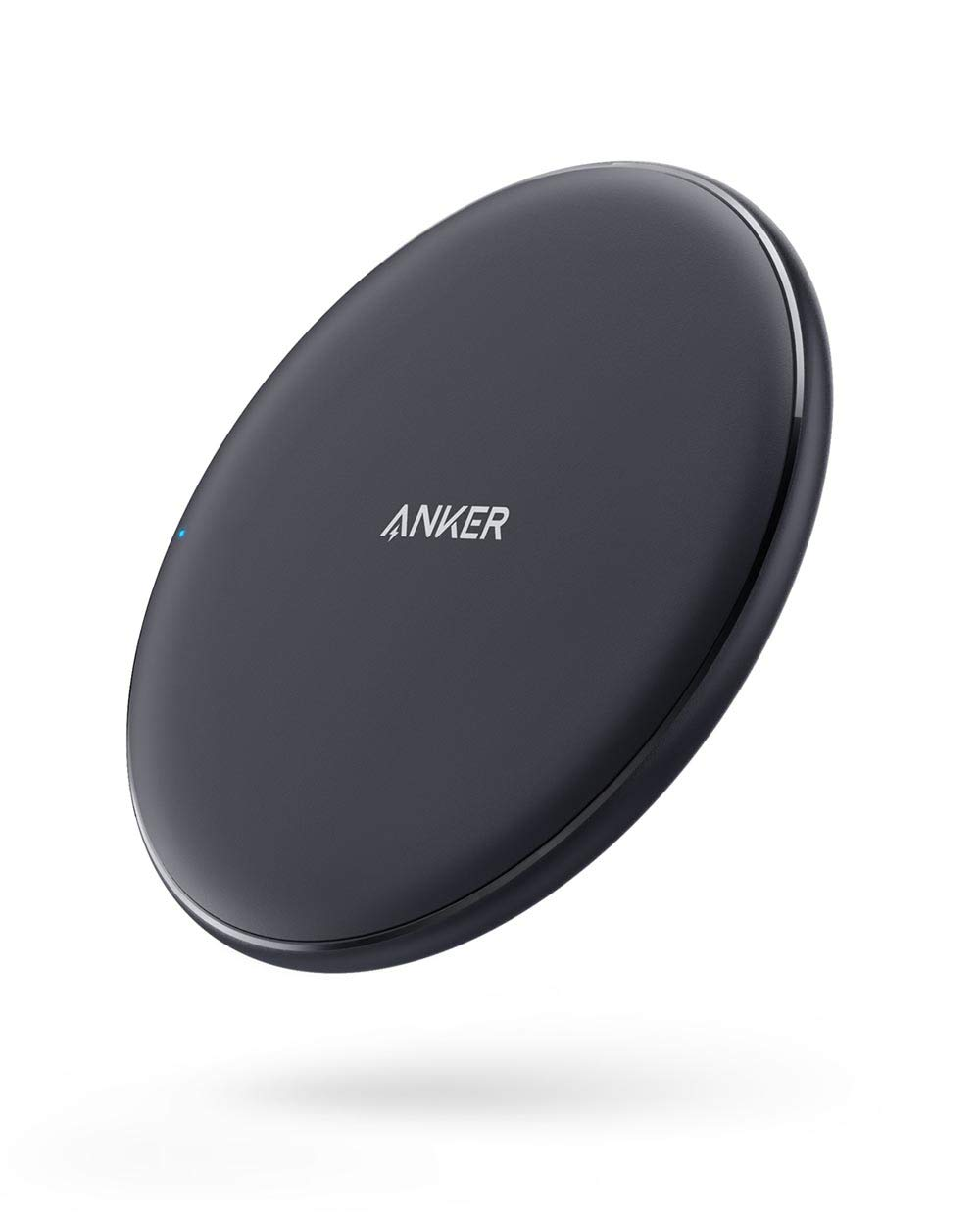 Anker Wireless Charger, PowerWave Pad, Compatible iPhone 11, 11 Pro, 11 Pro Max, Xs Max, XR, XS, X, 8, 8 Plus, 10W Fast-Charging Galaxy S10 S9 S8, ...