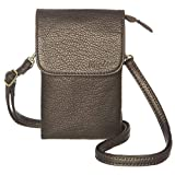MINICAT Roomy Pockets Series Small Crossbody Bags Cell Phone Purse Wallet For Women(Dark Gold)