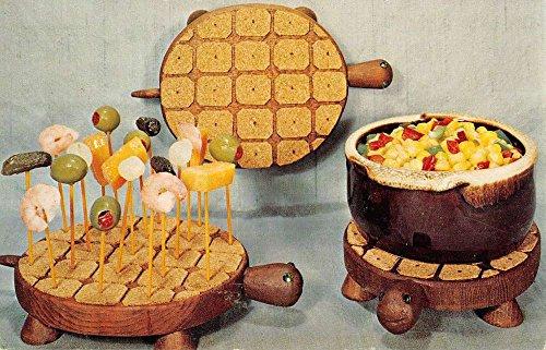 (Des Moines Iowa Turtle Trivet Handcraft Vintage Postcard K93651)