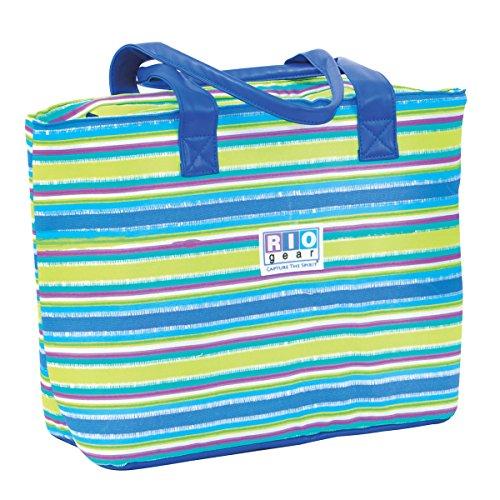 - Rio Insulated Beach Tote Bag - Oceana Stripe