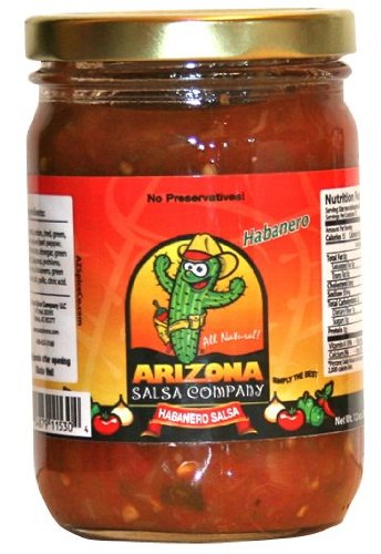Habanero Salsa- All Natural - Rich and thick with no added water by AriZona