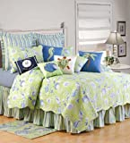 C & F Enterprises Green Shells Quilt Set