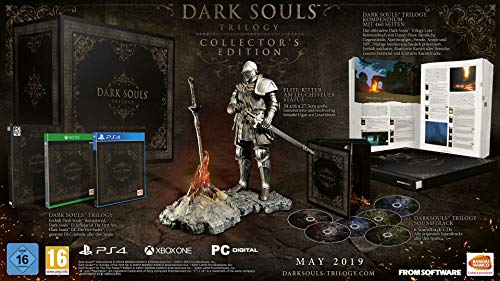 Dark Souls Trilogy Limited Collectors Edition W/ Elite Knight Statue (Xbox One)
