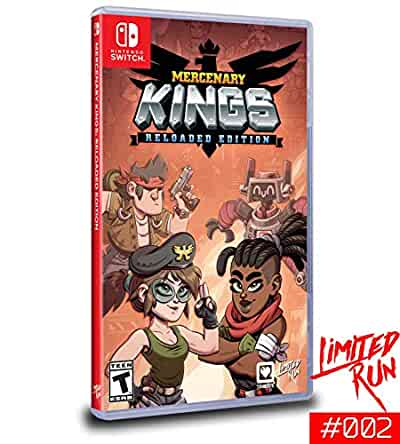 Amazon.com: Mercenary Kings Reloaded Edition - Nintendo ...