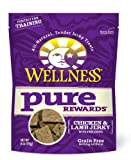 Wellness Grain-Free Treats for Dogs, Pure Rewards Chicken and Lamb, 6-Ounce Pouch, My Pet Supplies
