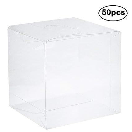 af06e6c4a5a Amazon.com  Clear PVC Plastic Boxes