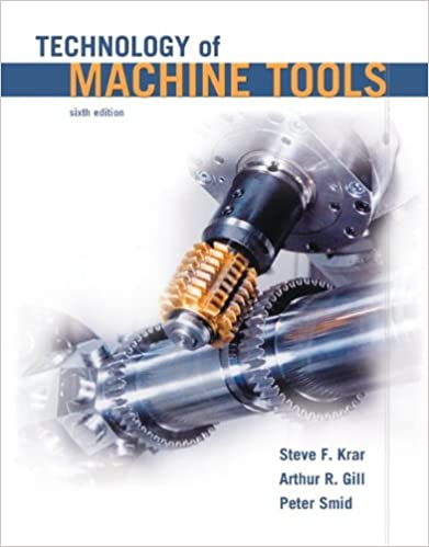 Technology of Machine Tools, 6th Edition