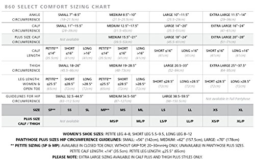 SIGVARIS-SELECT-COMFORT-860-Open-Toe-Calf-High-Compression-Hose-30-40mmHg