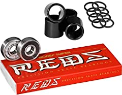 Super REDS are designed from the ground up to be the best bearing on the market at this price point. What Super REDS are not is a REDS bearing with just better super finishing (surface polishing). Super REDS are a superior quality bearing, us...