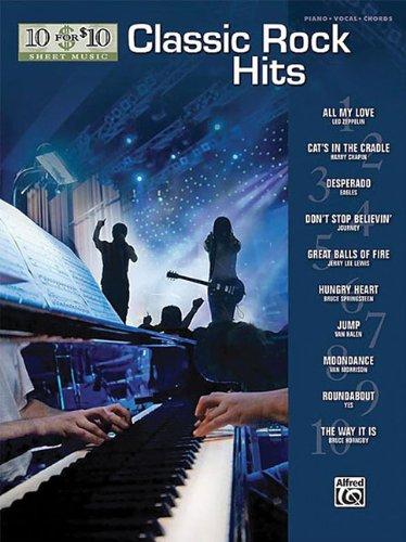 10 For 10 Sheet Music: Classic Rock Hits (Desperado Piano Music)