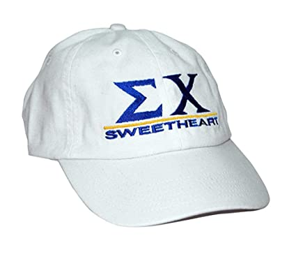 Greekgear Sigma Chi Sweetheart Hat White at Amazon Men s Clothing store  749879eb2e0