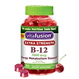 Cheap Vitafusion Extra Strength Vitamin B-12, 3000 mg, 90 Count (Pack of 2)