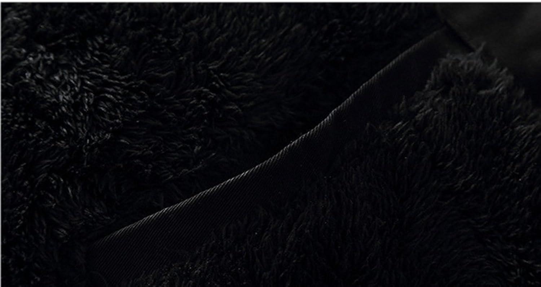 Baishun Men's Winter Thicken Velvet Multi-Pocket Cotton Jacket & Coat with Removable Hoodies