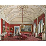 Canvas Prints Of Oil Painting ' Hau Edward Petrovich,The Second Reserved Apartment,The Drawing Room,1807-1887 ' , 10 x 13 inch / 25 x 32 cm , Polyster Canvas, Basement, Gym And Home Theater Decoration