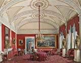 Oil Painting 'Hau Edward Petrovich,The Second Reserved Apartment,The Drawing Room,1807-1887', 20 x 26 inch / 51 x 65 cm , on High Definition HD canvas prints, Basement, Gym And Home Theater Decoration
