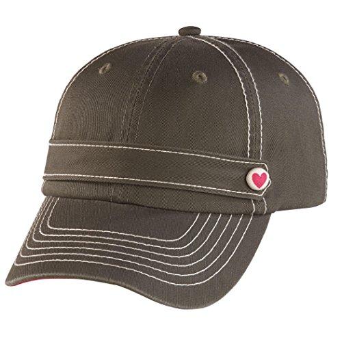 Genuine Subaru Heart Cap Ladies Hearts Hat Impreza STI WRX Olive Pink New Womans