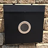 AMOYLIMAI MPB933WHB The New Vertical Lockable Mailboxes Painted Black...