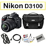 Nikon Shooter Package Featuring D3100 Digital Camera, Opteka Shutter Release Remote