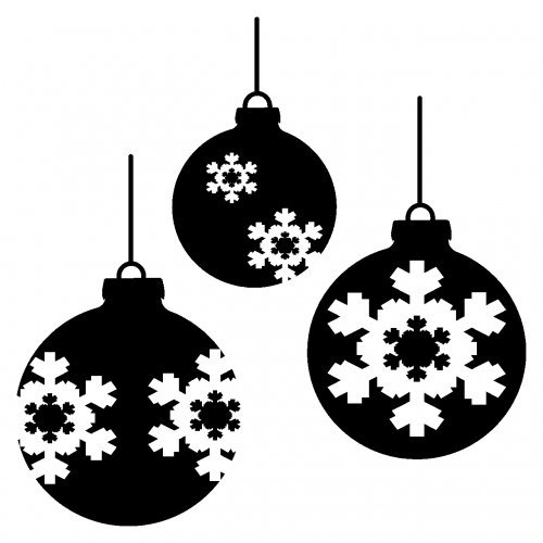 weihnachtskugeln schwarz wei kaagenbraassemvoetbal. Black Bedroom Furniture Sets. Home Design Ideas