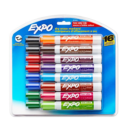 Expo 81045 Low Odor Markers Assorted product image