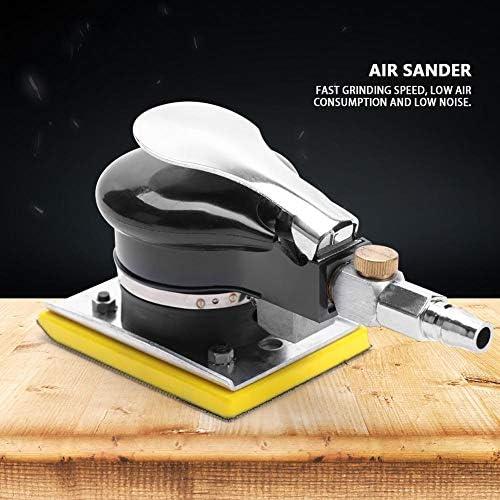 Adjustable Handheld 10000RPM Random Orbital Sander, Random Orbital Air Sander, Low-Vibration for Artificial Stone Wood Products