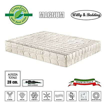 Willy & Bedding Magnum Willy and Bedding Materasso in Memory Foam ...