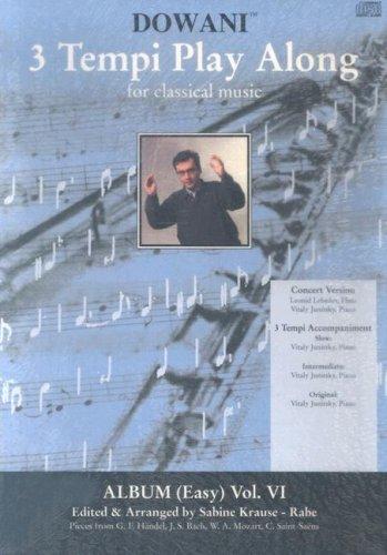 Album Vol. VI (Easy) for Flute and Piano (3 Tempi Play - Piccolo Pop Leonard Hal