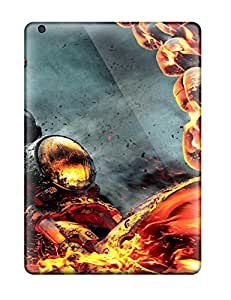 Finleymobile77 Cases Covers For Ipad Air - Retailer Packaging Ghost Rider Spirit Of Vengeance Protective Cases