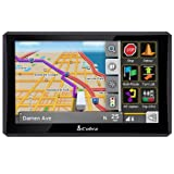 Cobra 8000 PRO HD 7-Inch Navigation GPS for Professional Drivers (Discontinued by Manufacturer)