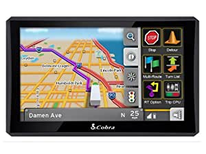 cobra 8000 pro hd 7 inch navigation gps for professional drivers discontinued by. Black Bedroom Furniture Sets. Home Design Ideas