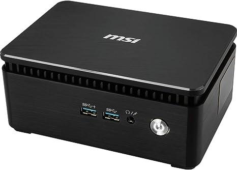 MSI Cubi 3 Silent S-026BEU - Ordenador de sobremesa Barebone (Intel Core i5-7200U, Intel HD Graphics, sin Sistema operativo) Negro: Msi: Amazon.es: Informática