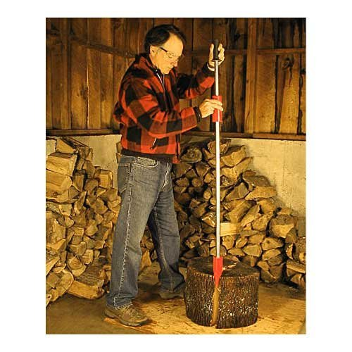 ''Easy-Split'' Wood Splitter