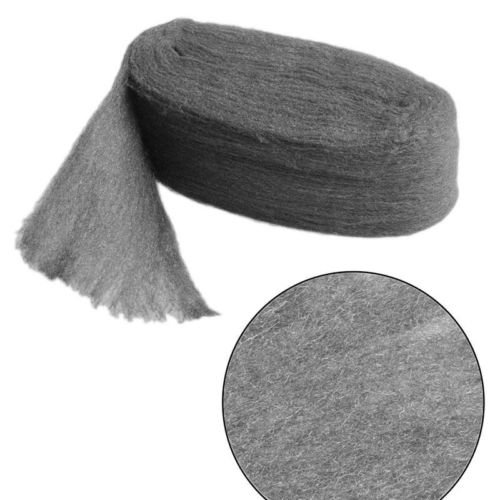 TM Grade 0000 Steel Wire Wool 3.3m for Polishing Cleaning Remover Non Crumble PT CaandShop