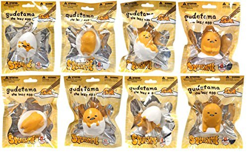 Sanrio Gudetama Squishme Blind Bag (Assorted Poses) One Bag Only