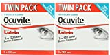 Bausch + Lomb Ocuvite Eye Vitamin & Mineral Supplement with Lutein - 2 Boxes, 240 Tablets Each