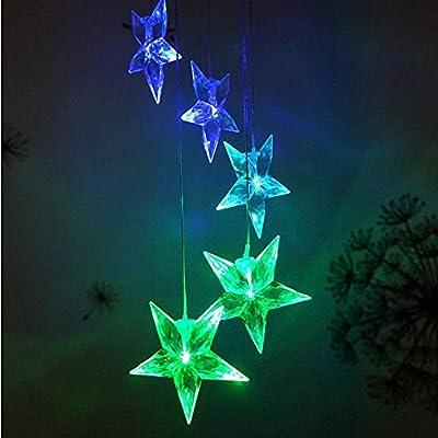 Solar Wind Spinner Color Changing LED Light