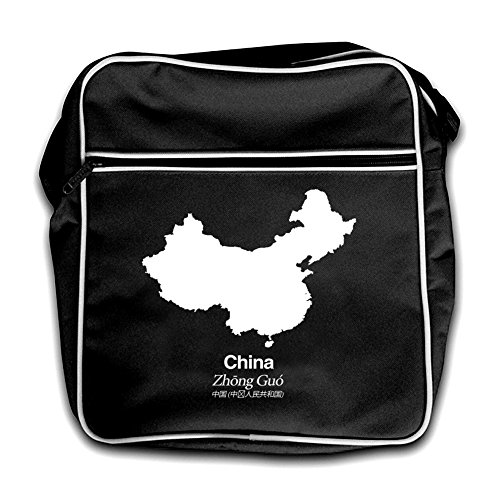 Black Bag Flight China Silhouette Retro Red wq4Tnxvfp