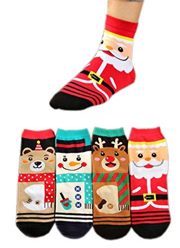 AnVei Nao Women Christmas Snowman Cotton